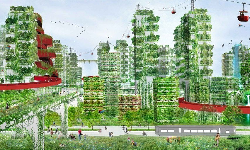 Italian Architect plans 'forest cities' to combat pollution in China