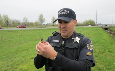 Oregon state troopers save ducklings from storm drain