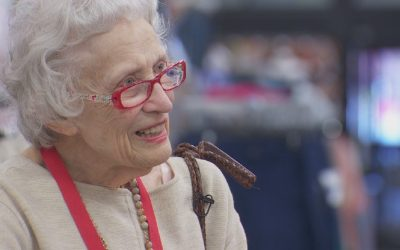 Nonagenarian honored for decades-long service to home-bound in Portland