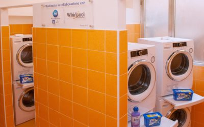 Papal Almoner announces opening of laundromat for Rome's poor and homeless