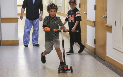 Astoria Boy Receives 3D-Printed Prosthetic from OHSU