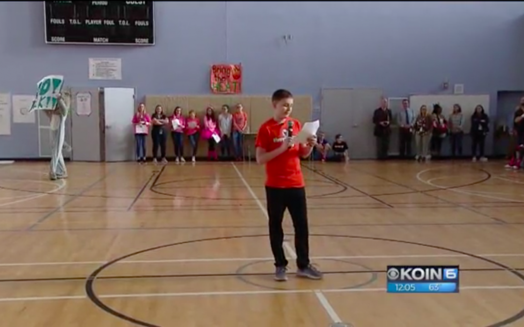 Local School Supports Fellow Student with Cancer