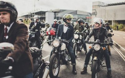 Bikers Worldwide Dress Dapper to Raise Millions to Prevent Suicide