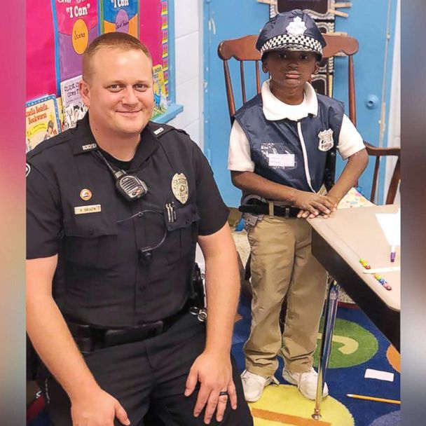 When a Boy's Condition Prevents Him from Going outside, an Officer Offers to be His Best Friend
