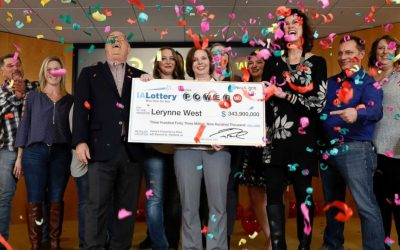 Single Mom wins state's largest ever lotto prize and starts a charitable organization