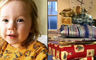 86-year-old man bought 14 years of Christmas presents for his two-year-old neighbor