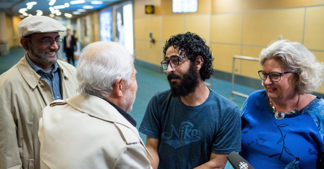 Stuck in airport for 8 months, Syrian refugee is finally given a home